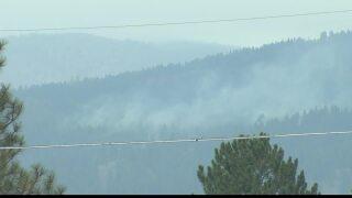 """Smoke knocks Rattlesnake air quality to """"unhealthy"""""""