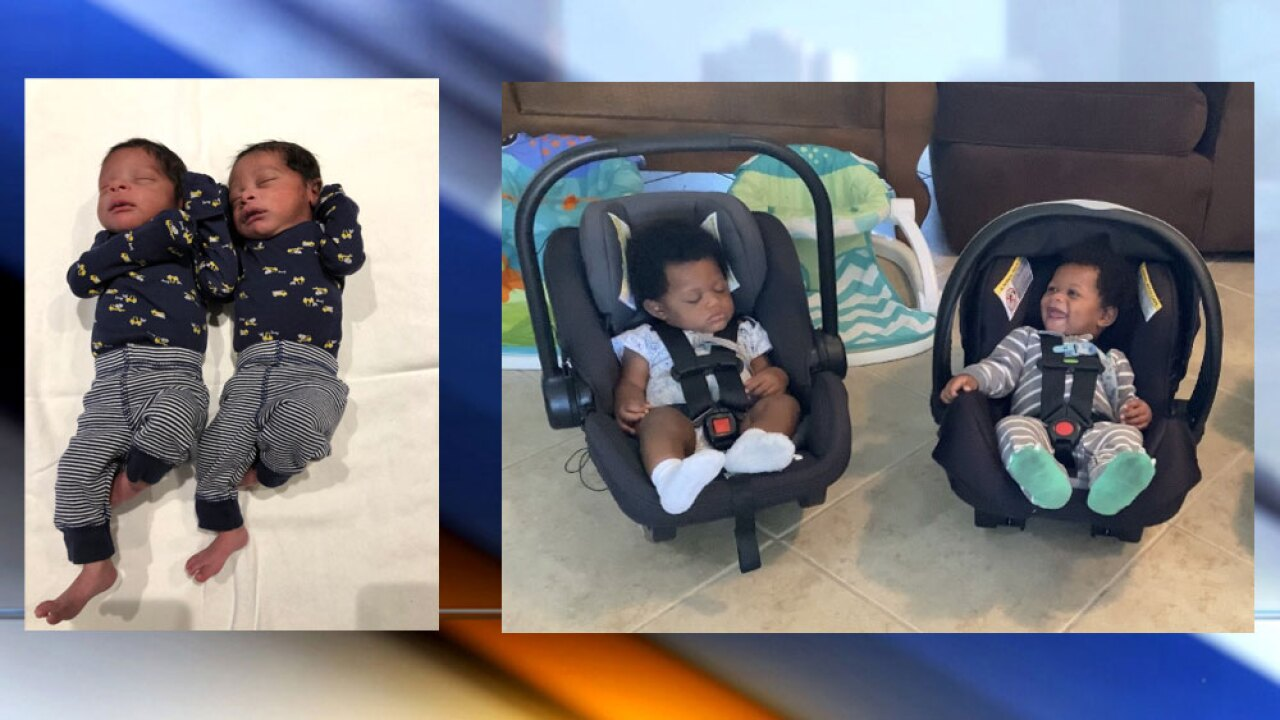 West Palm Beach mom gives birth to two sets of twins in one year