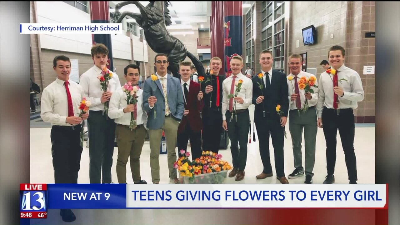 Herriman High school guys want to make sure all the female students know theymatter