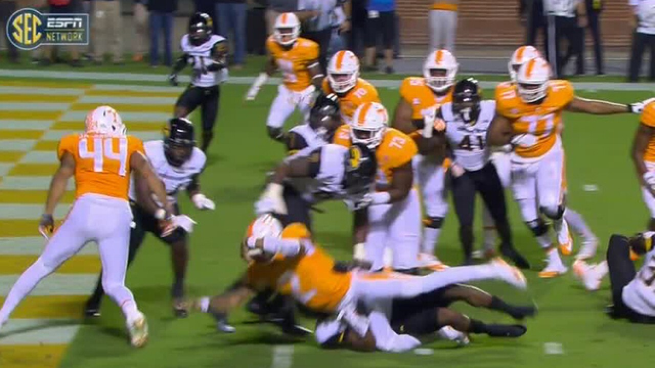 Tennessee Beats Southern Miss 24-10 To Snap 4-Game Skid