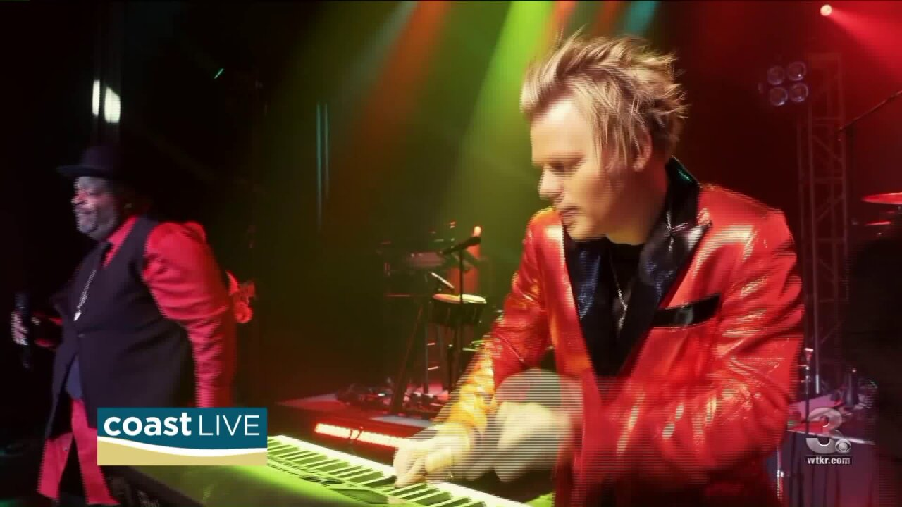 We talk to jazz artist Brian Culbertson about his show this week in Hampton on CoastLive