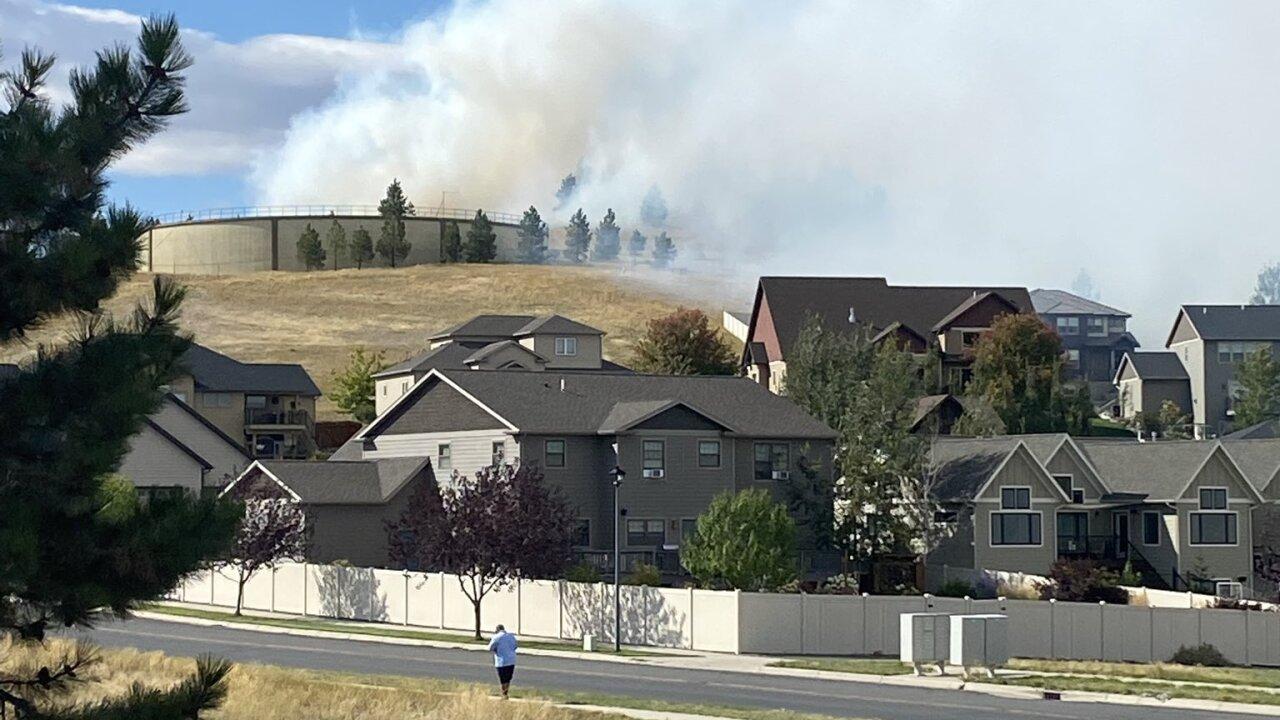 Nob Hill fire