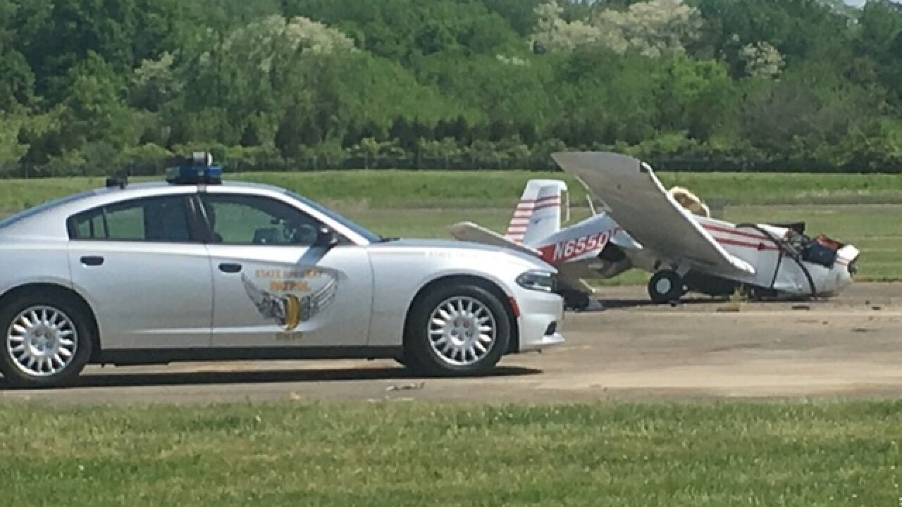Small plane crashes at Butler County Regional Airport