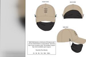 Lexington group invents hat/mask contraption