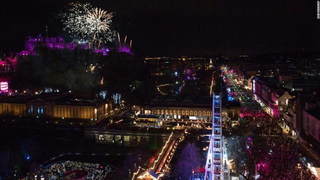 New Year's celebrations around the world 2018