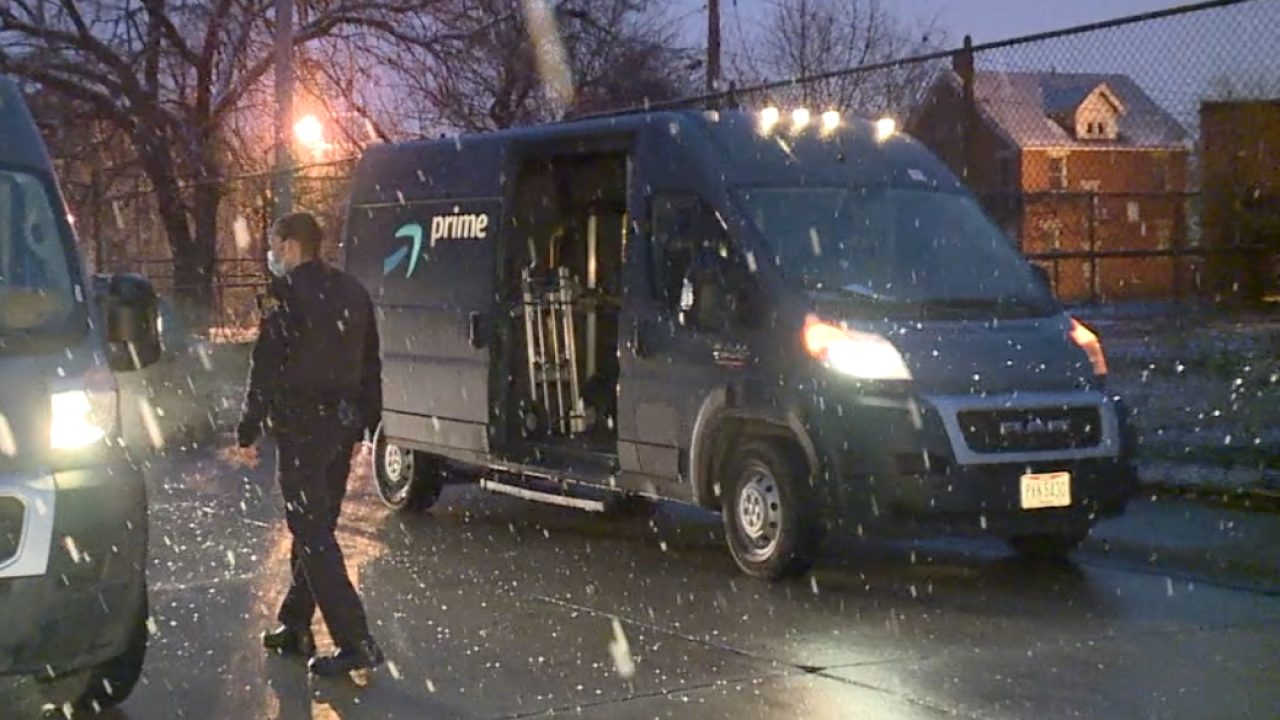 Local Amazon truck thieves steal Christmas gift hopes