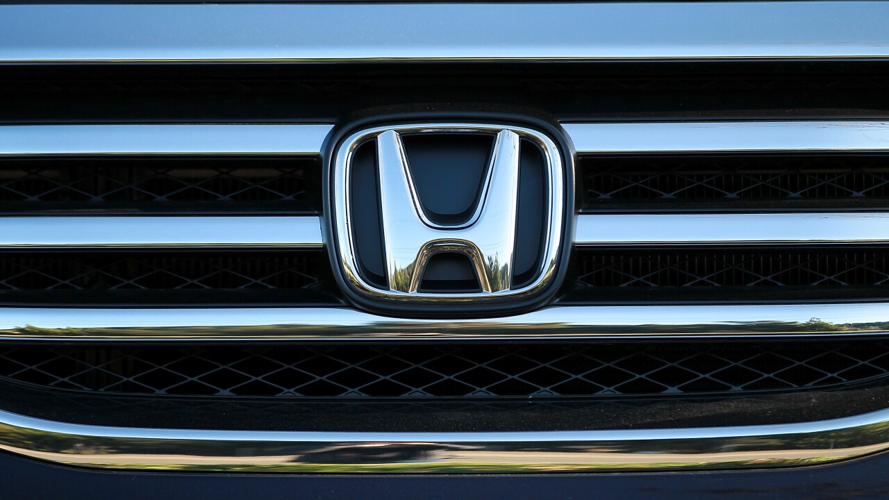 Honda recalls 1.6 million vehicles over Takata airbags