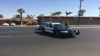 Police activity in Central Bakersfield