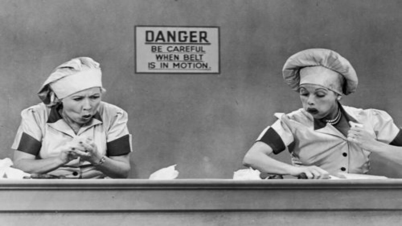'I Love Lucy' Is Showing In Movie Theaters To Celebrate Lucille Ball's Birthday