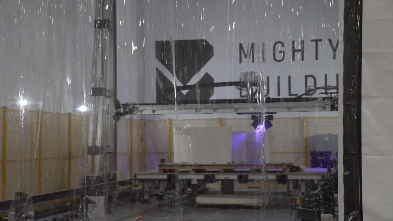 Mighty Buildings 3D Printer