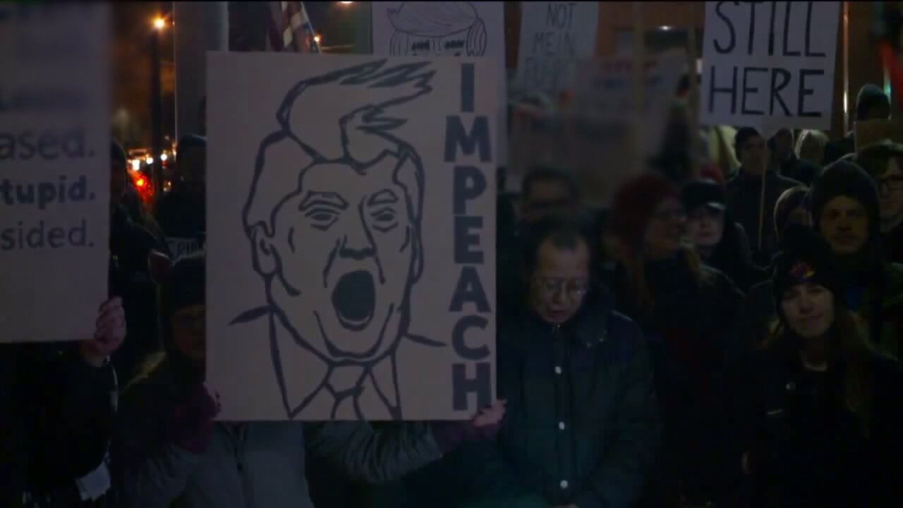 Hundreds march in Salt Lake City to protest DonaldTrump