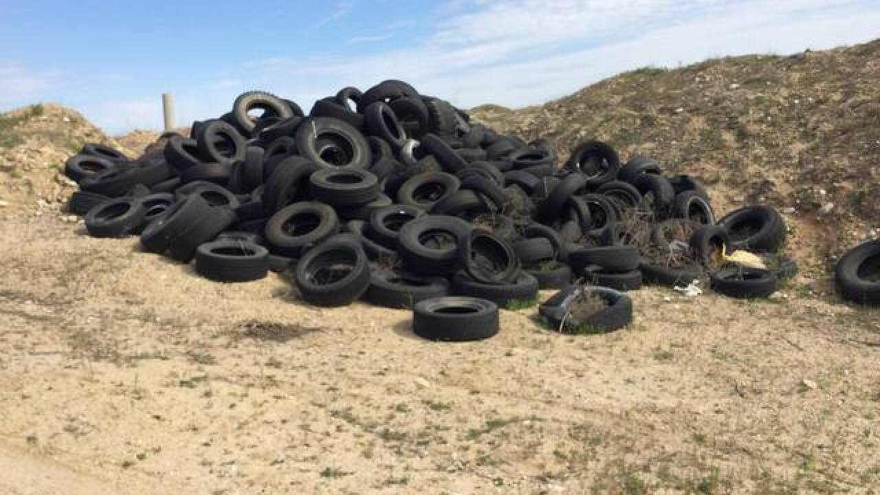 Man cited for dumping trash in south Ada County
