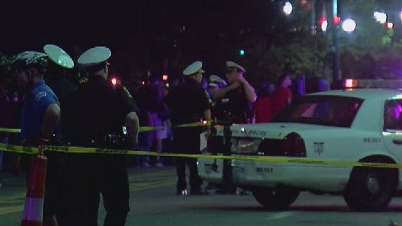 Four people shot Cincinnati Sunday night