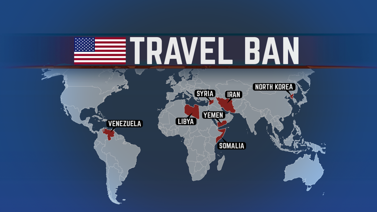White House considers expanding travel ban to more countries
