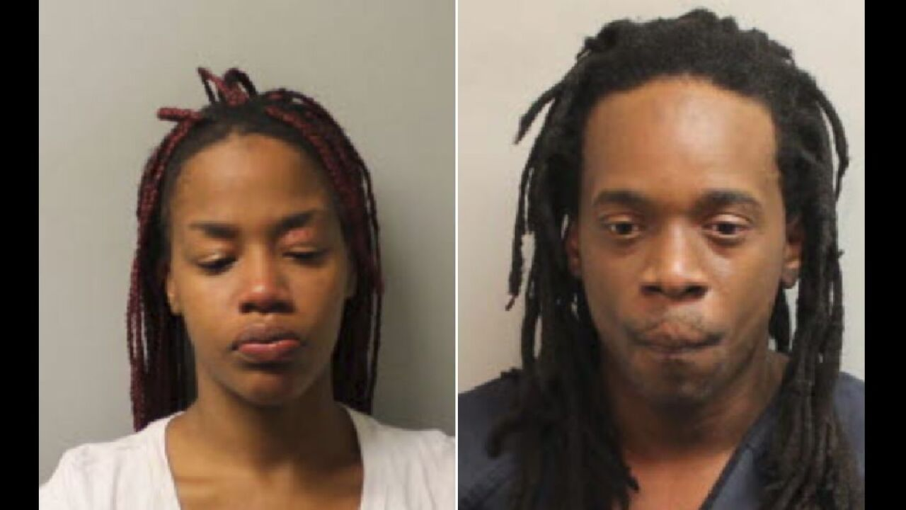 Traffic stop leads to two arrests for guns, drug trafficking