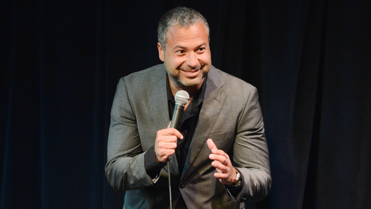 Comedian/Actor Ahmed Ahmed performs at the Bud Light Presents Wild West Comedy Festival featuring Billy Gardell at Zanies on May 15, 2014 in Nashville, Tennessee.