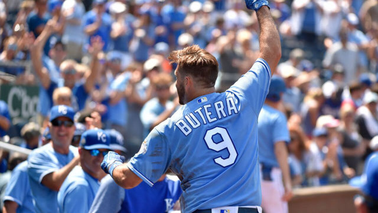 Royals send catcher Drew Butera to Rockies for minor leaguer
