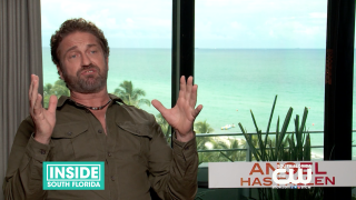 Gerard Butler Talks 'Angel Has Fallen'