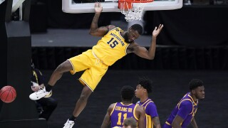 Chaundee Brown NCAA LSU Michigan Basketball