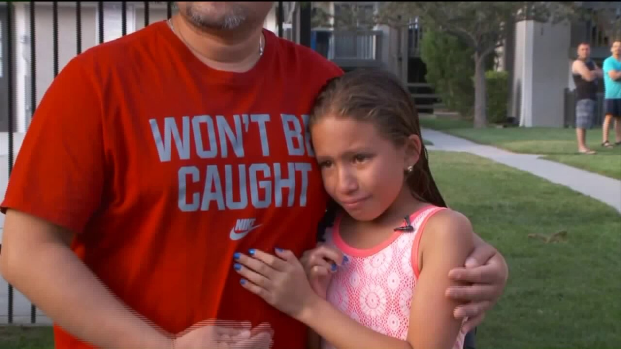 Girl recalls dad saving drowning 4-year-old from West Valley City pool