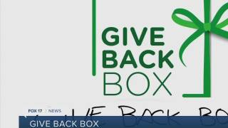 Recycle Christmas Boxes and Give Back with Give Back Box