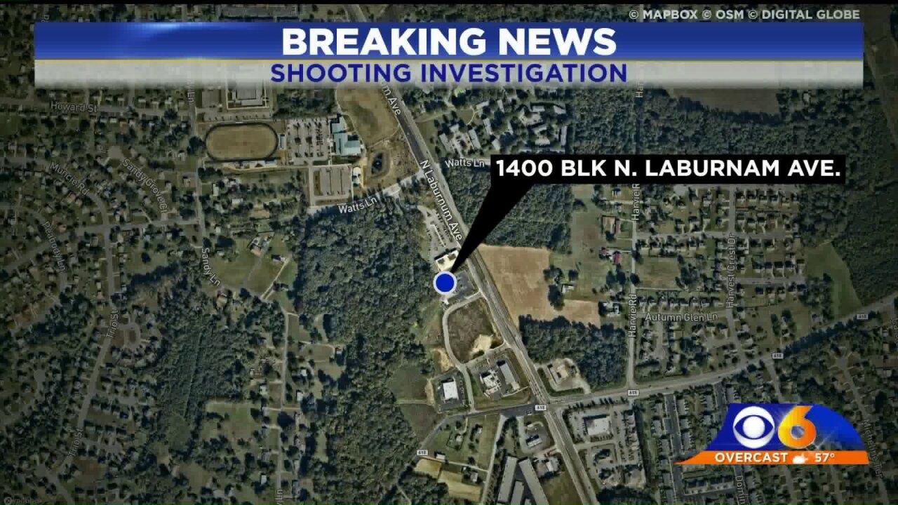 Shooting reported on LaburnumAvenue