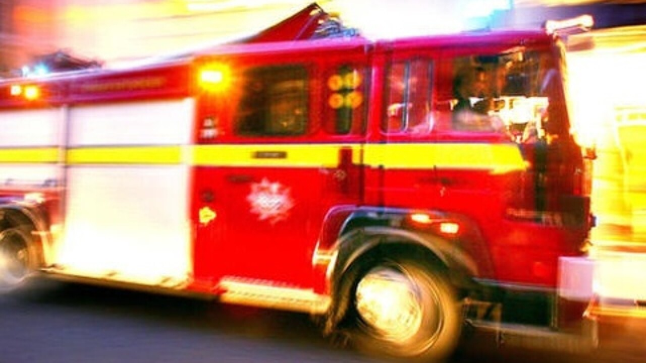 House fire caused by careless use of smoking materials