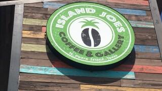 Island Joe's is collecting trash and giving away free coffee