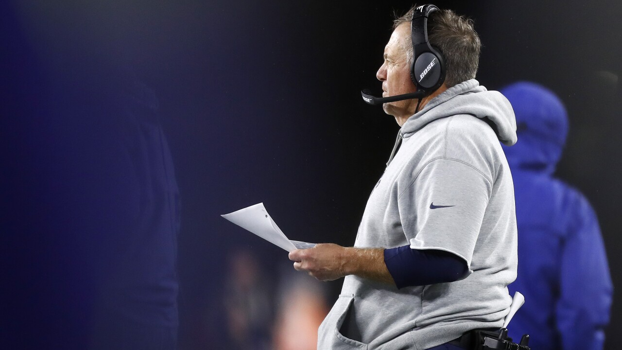 New England Patriots admit to 'inappropriately' filming after accused of recording Cincinnati Bengals sideline