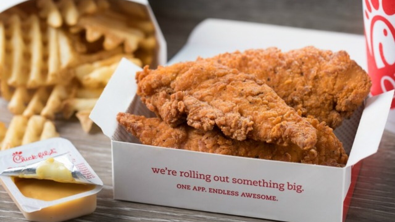 Chick-Fil-A testing spicy chicken strips