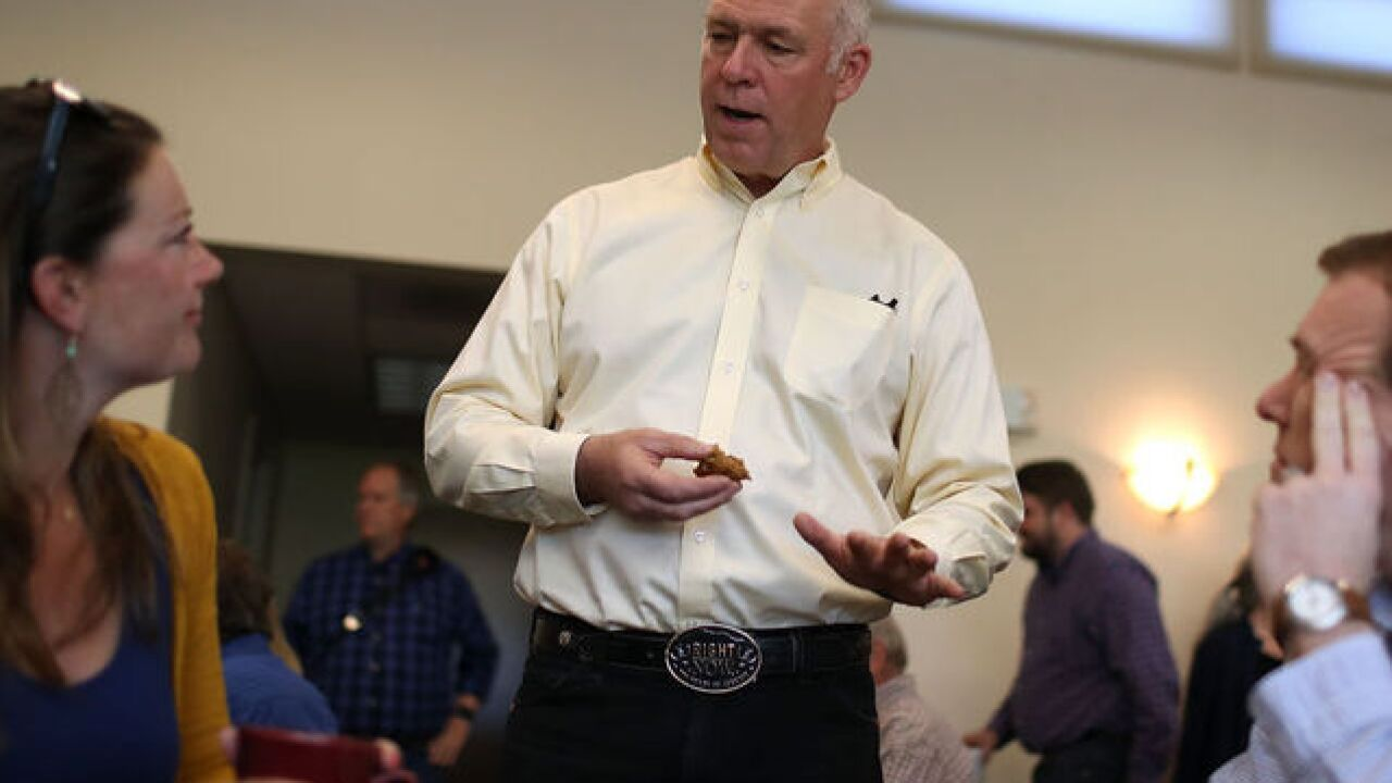 GOP candidate Greg Gianforte charged after allegedly 'body slamming' reporter