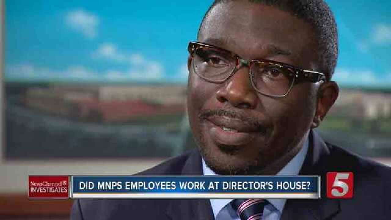 Schools Boss Denies Using MNPS Workers For House