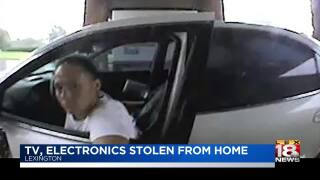 Crime Stoppers: TV, Electronics Stolen From Home
