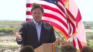 Gov. Ron DeSantis speaks on Earth Day 2021 in Wellington