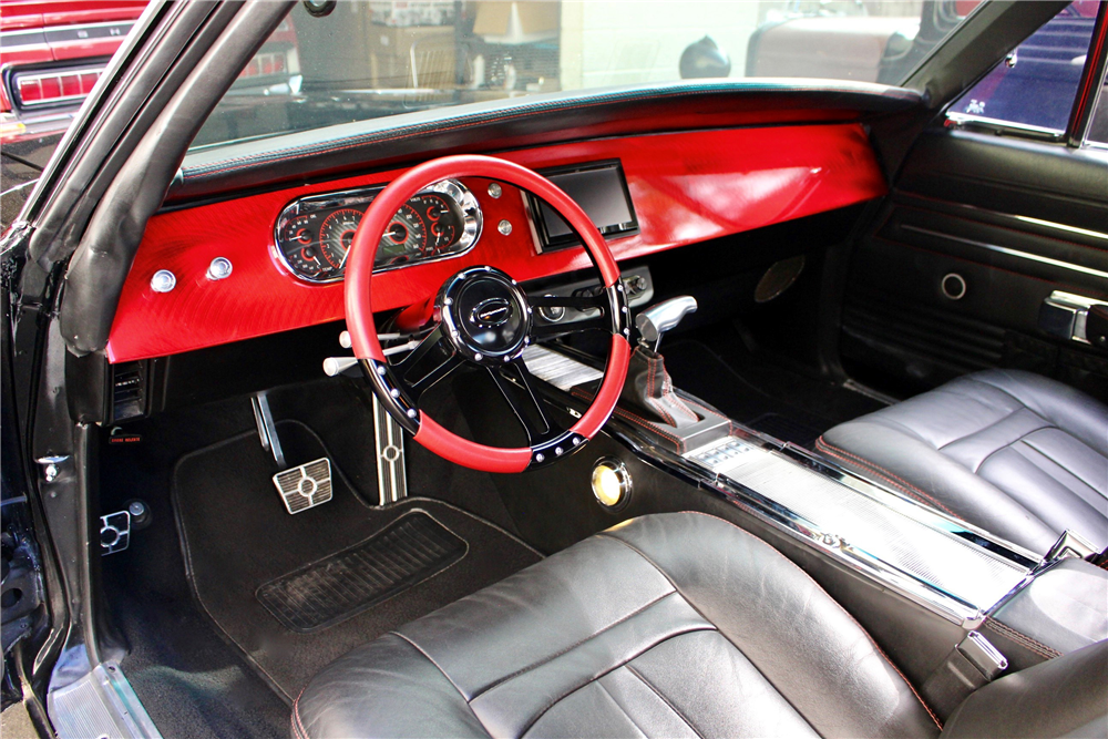 Larry Fitzgerald 1968 Dodge Charger Custom Coupe Barrett-Jackson