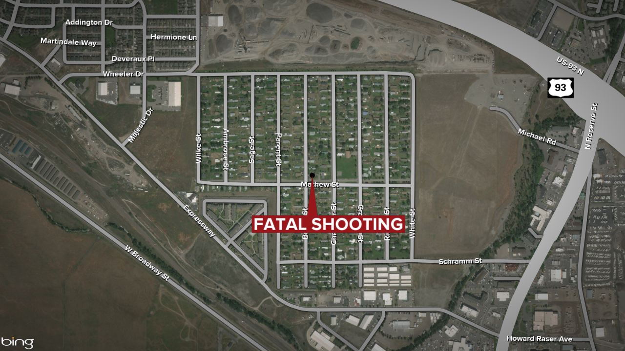 Bailey Street Missoula Fatal Shooting