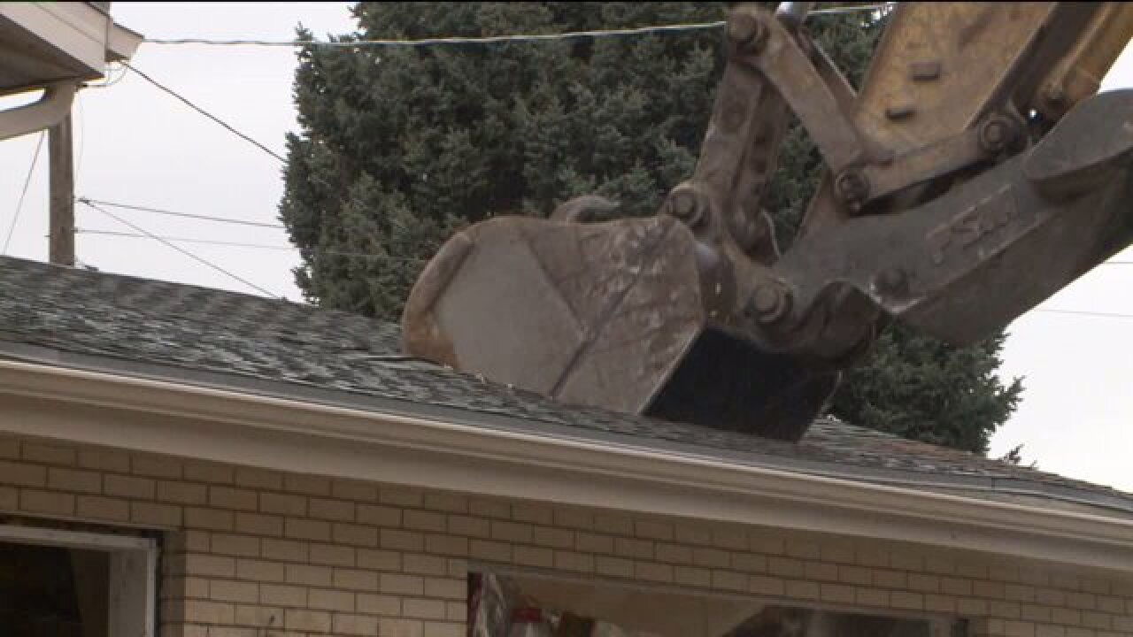 Cottonwood Heights tearing down eight homes for new city hall