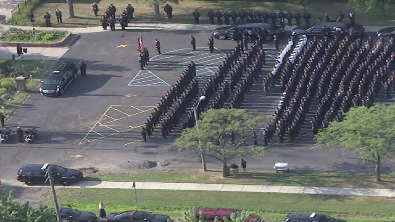 Funeral held for officer Michael Krol