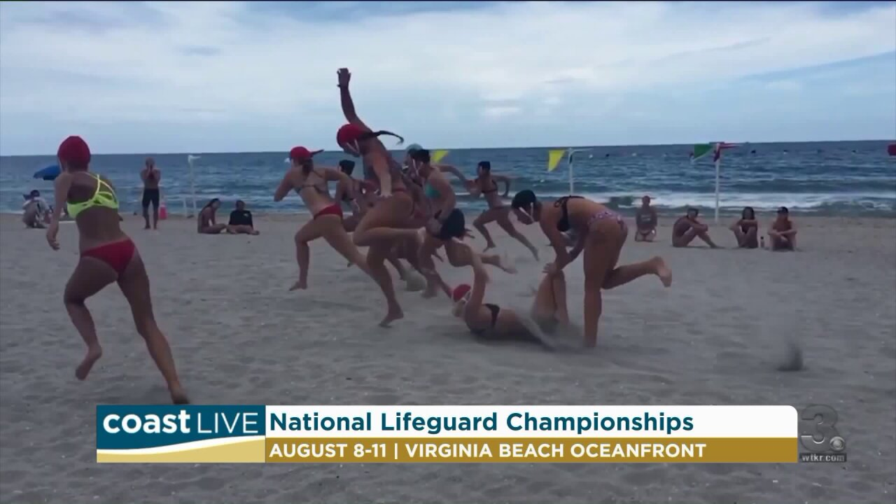 National Lifeguard Championships coming to the Beach on CoastLive