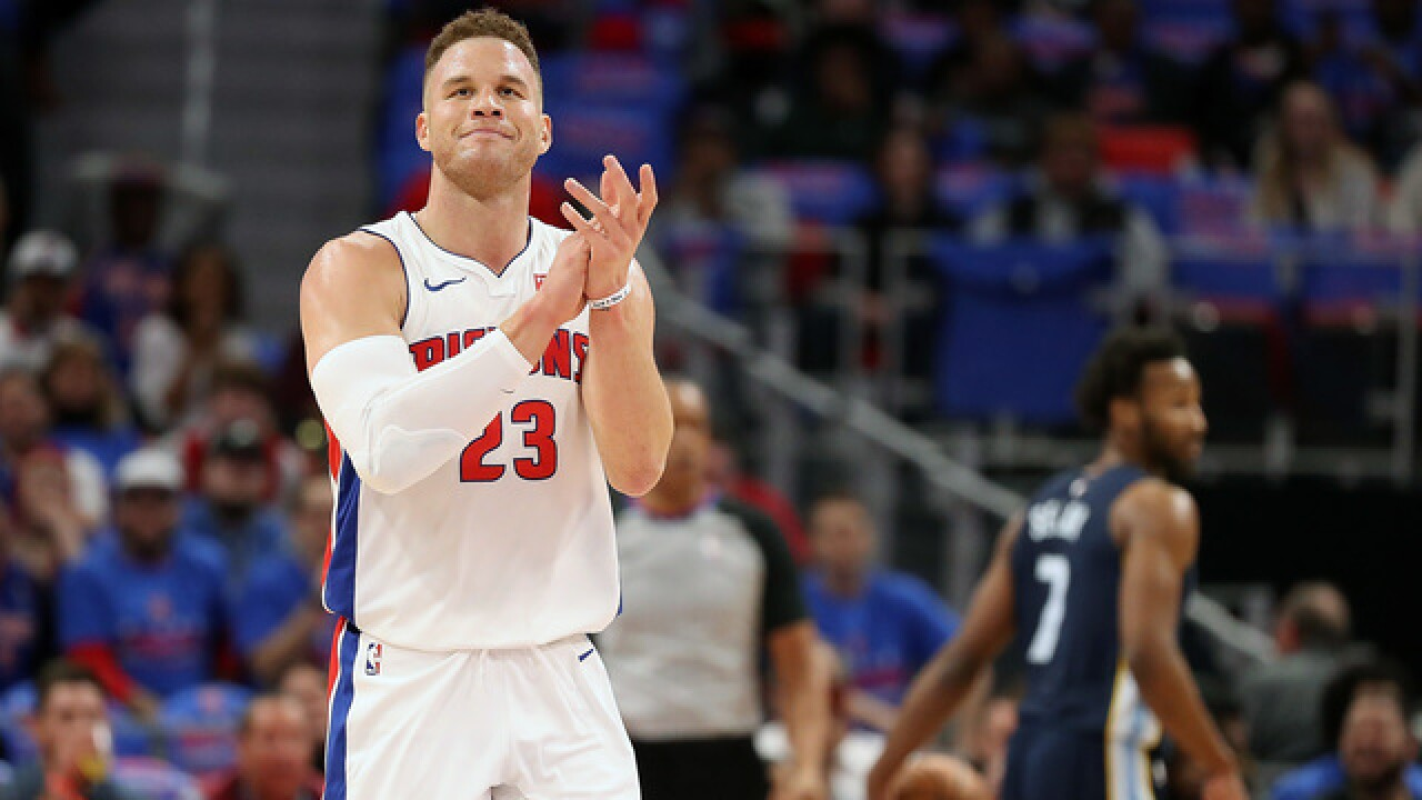 Pistons' Stefanski believes Griffin has chip on his shoulder, hopeful in GRIII's potential