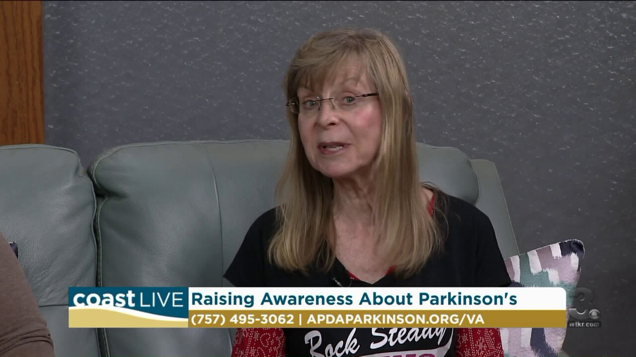 A first-hand account of living with Parkinson's and the 2019 Optimism Walk on CoastLive