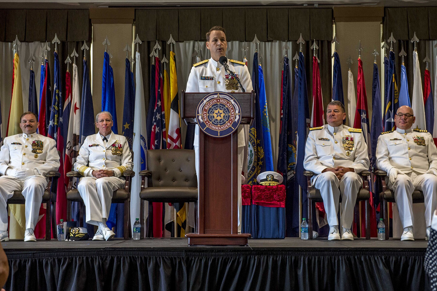 Photos: Nayv Region Mid-Atlantic changes command