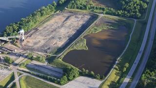 Former Beckjord plant site near New Richmond.