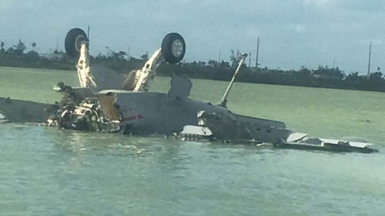 Witnesses of fatal Oceana-based Navy jet mishap describecrash