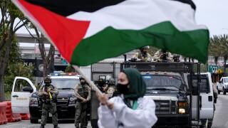 APTOPIX US Israel Palestinians Los Angeles