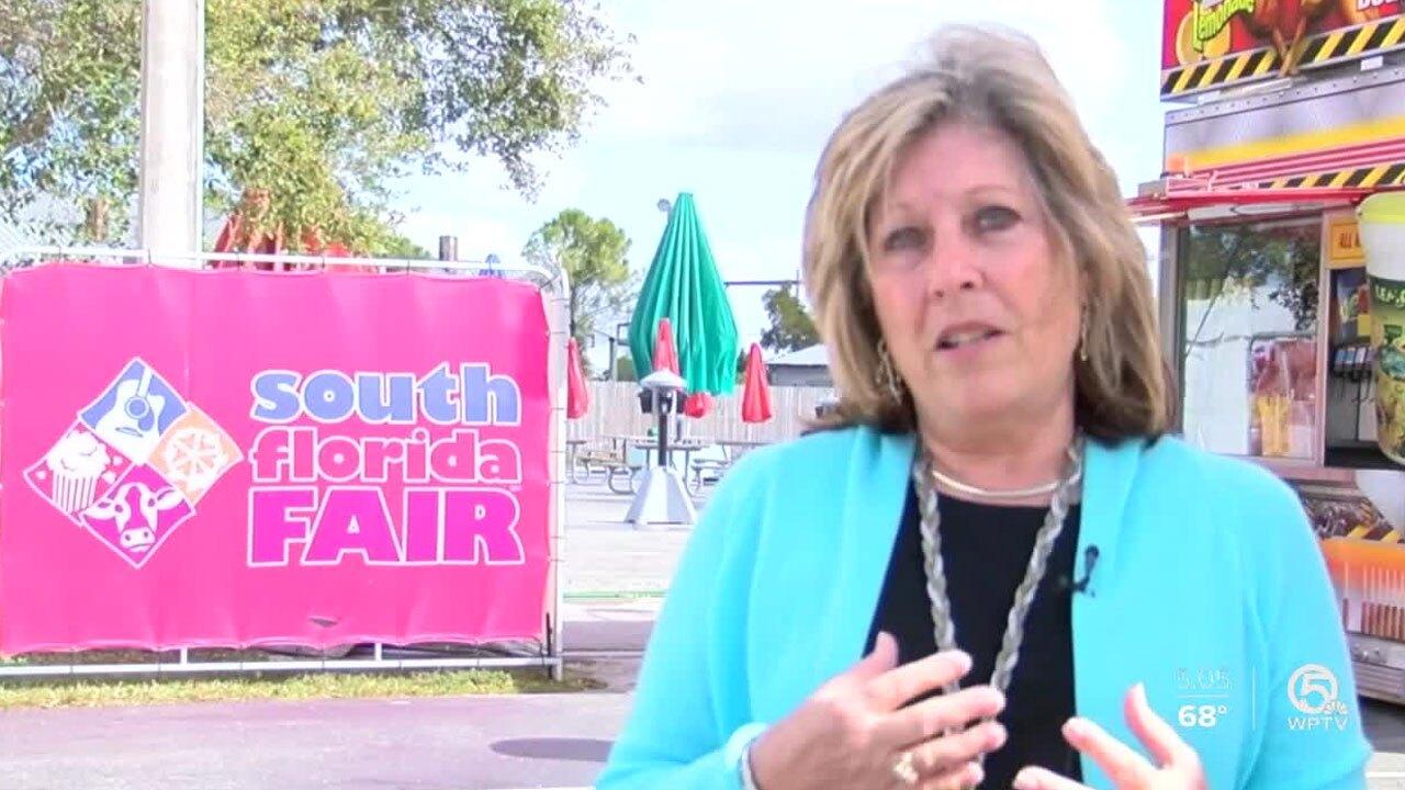 Vicki Chouris, South Florida Fair president and CEO