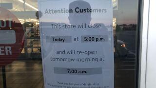 Wal Mart closure