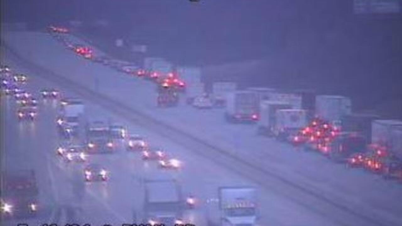 I-94 SB reopens after early morning semi crash