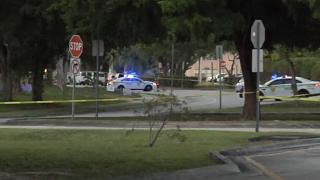 Miami-Dade County graduation party shooting scene, June 6, 2021