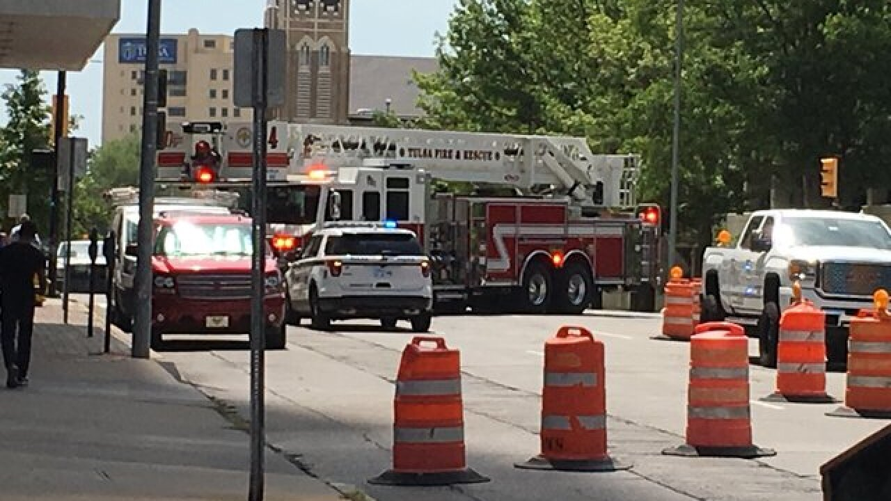 Evacuations underway downtown after gas leak